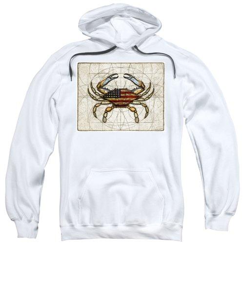 4th Of July Crab Sweatshirt