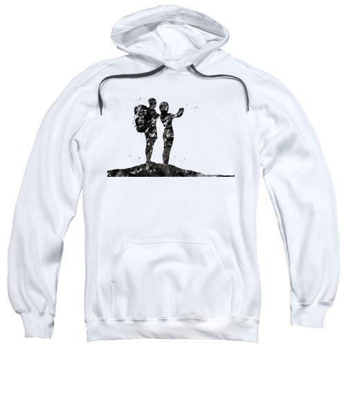 Couple Traveling Sweatshirt