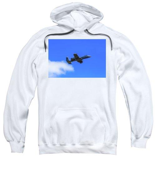A-10c Thunderbolt II In Flight Sweatshirt
