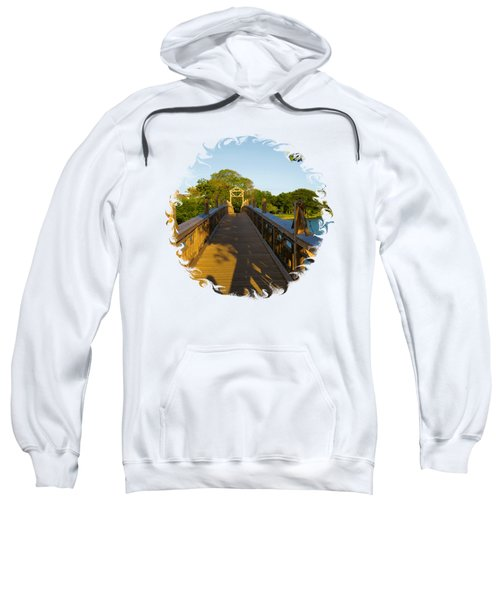 A Golden Afternoon In Spring Lake New Jersey Sweatshirt