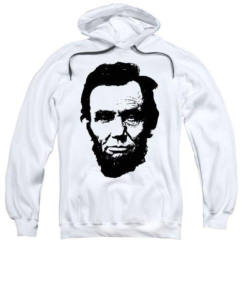 Abraham Lincoln Minimalistic Pop Art Sweatshirt