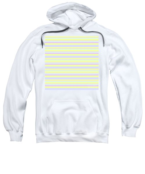 Abstract Horizontal Fresh Lines Background - Dde596 Sweatshirt