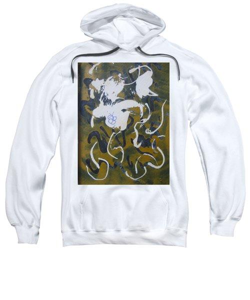 Abstract Human Figure Sweatshirt