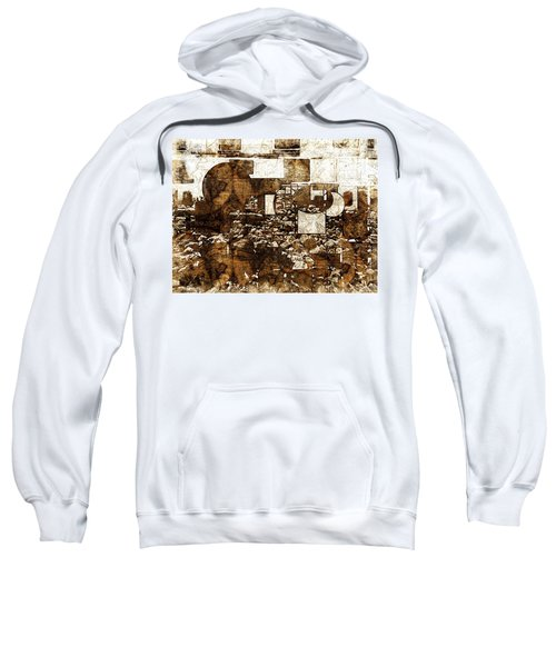 Abstract Map Sweatshirt