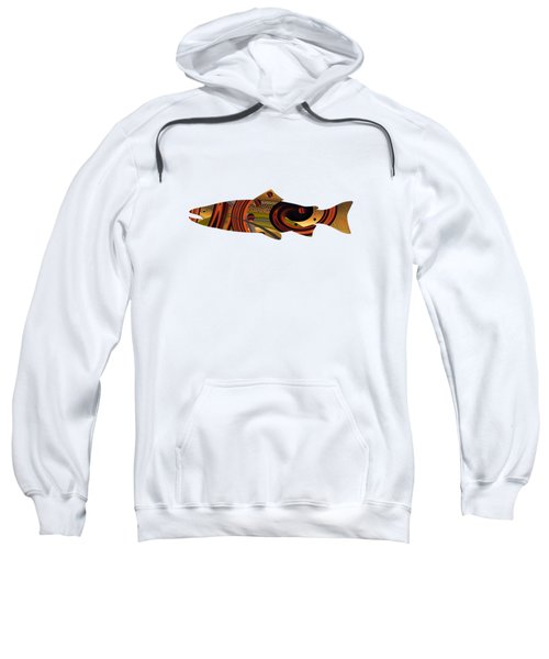 Abstract Trout Sweatshirt