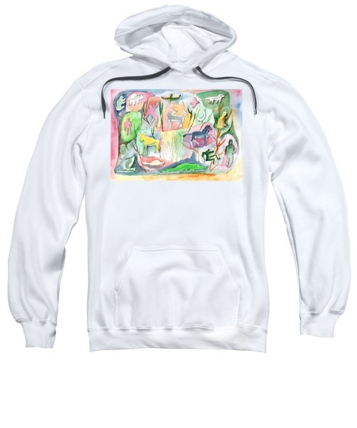 Abstraction Living World Sweatshirt