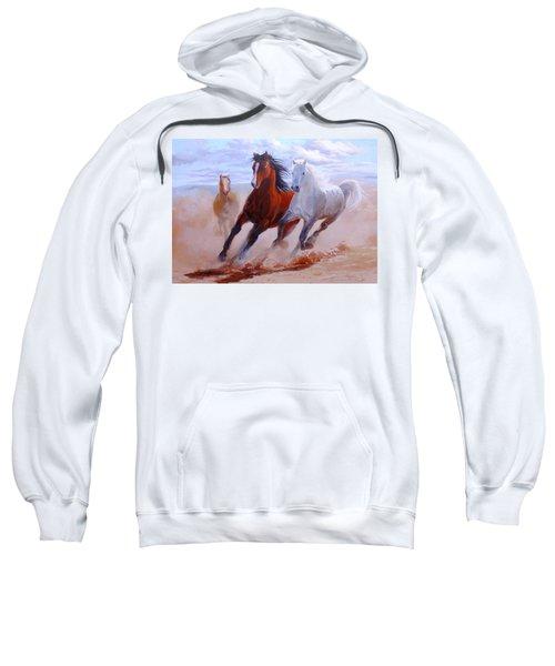 Adventurous Horses Sweatshirt