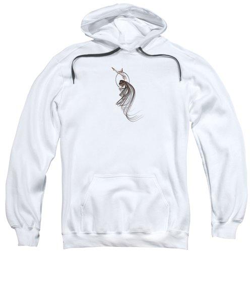 Aerial Hoop Dancing Spiraling Sweatshirt