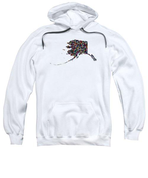 Alaska Map - 1 Sweatshirt