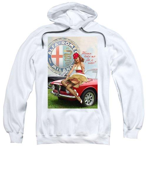 Alfa Giulia Sprint Gt Babe Sweatshirt