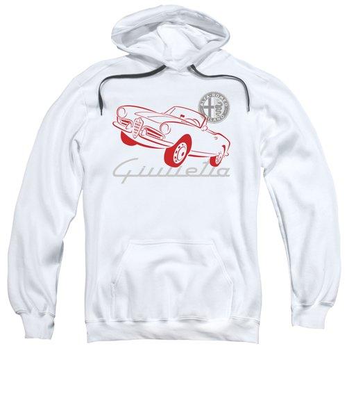 Alfa Giulietta Spider-1 Sweatshirt
