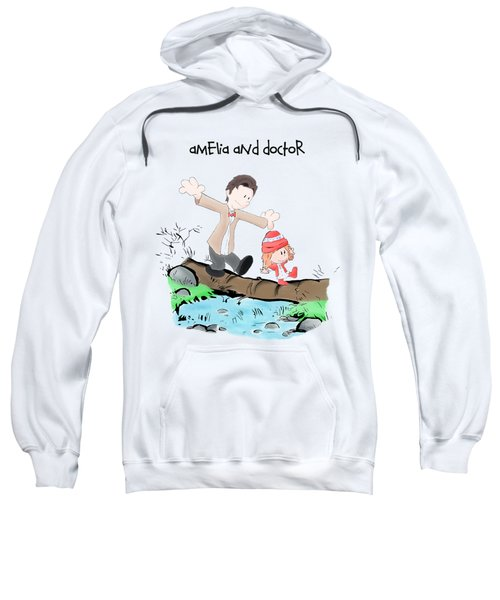 Amelia And Doctor Sweatshirt