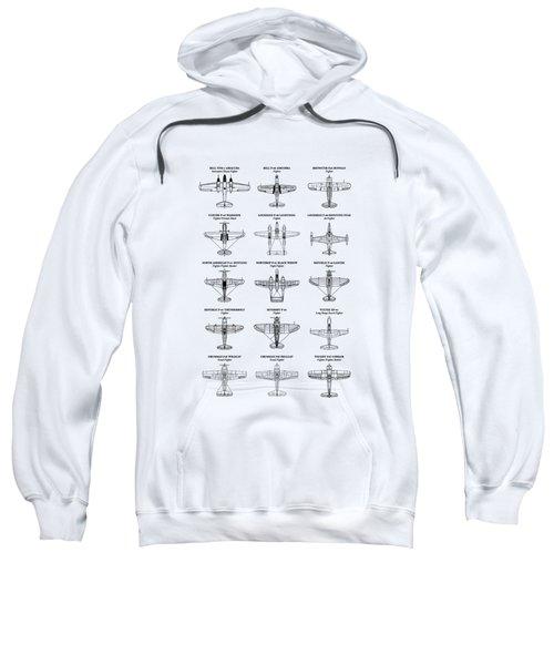 American Fighters Of Ww2 Sweatshirt