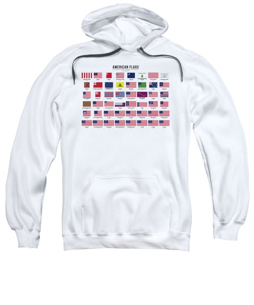 American Flags Sweatshirt