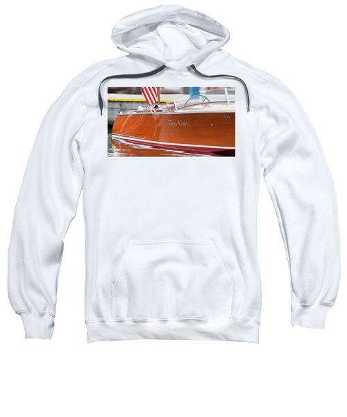 Antique Wooden Boat 1305 Sweatshirt