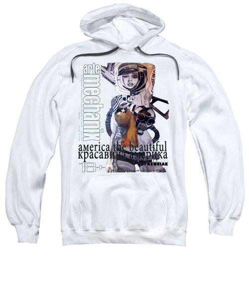 arteMECHANIX 1913 AMERICA THE BEAUTIFUL GRUNGE Sweatshirt