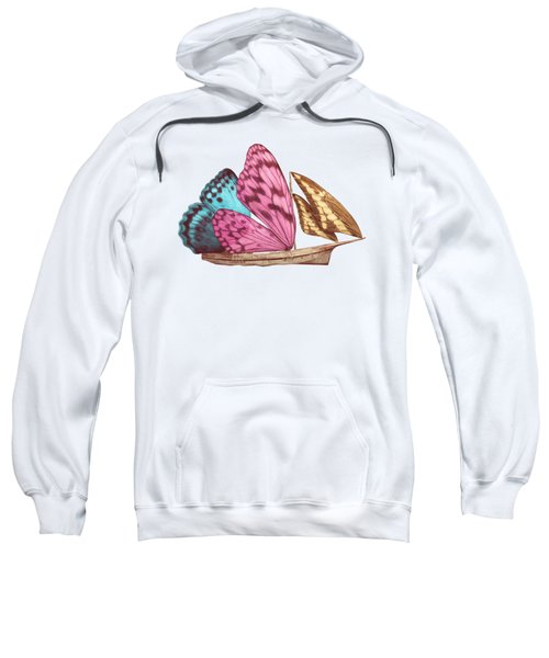 Butterfly Ship Sweatshirt