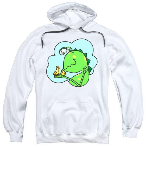 Monster Kissing Ducklings Sweatshirt
