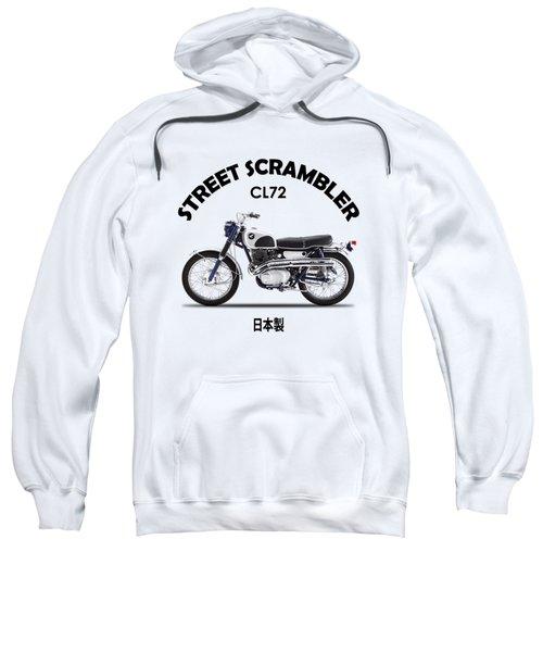 Honda Cl72 Street Scrambler 1966 Sweatshirt