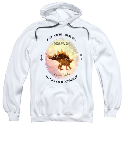 No One Rules If No One Obeys By Olena Art Sweatshirt