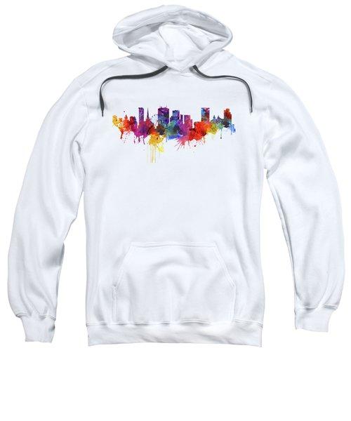 Birmingham Watercolor Skyline Sweatshirt