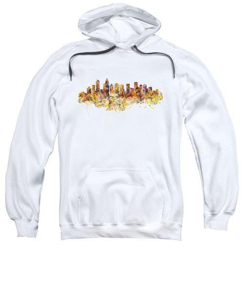 Charlotte Watercolor Skyline Sweatshirt