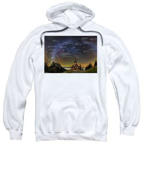 Astrophotography Winter Wonderland Sweatshirt