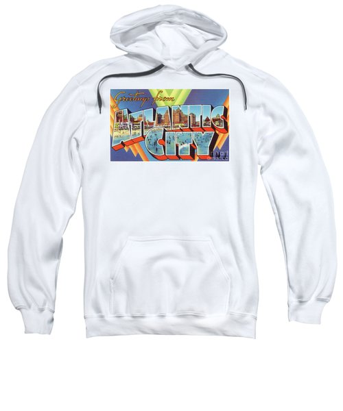 Atlantic City Greetings #4 Sweatshirt