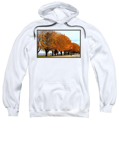 Autumn Leaves In Menominee Michigan Sweatshirt