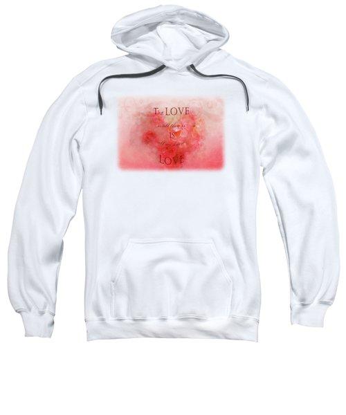 Baby Rose Garden - Poem Sweatshirt