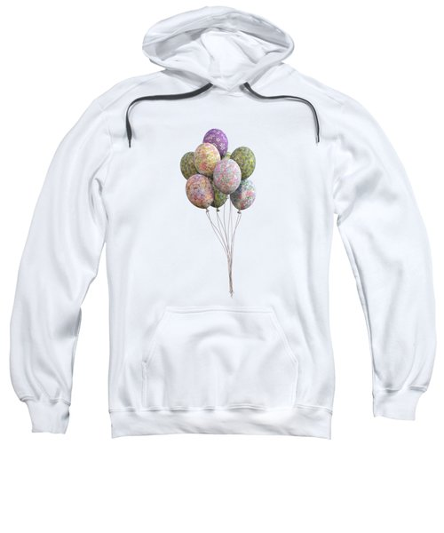 Balloons Classic Floral Sweatshirt