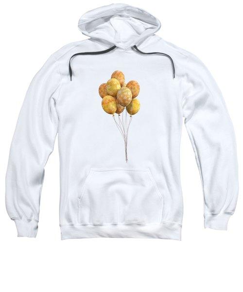 Balloons Golden Sweatshirt
