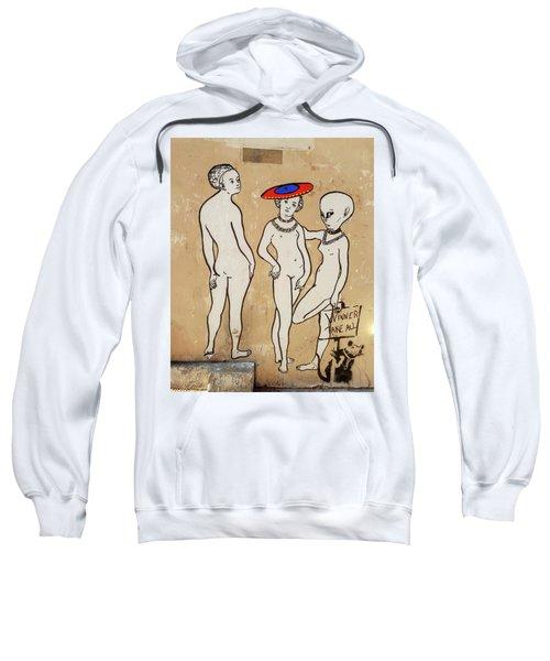 Banksy Paris Winner Take All Sweatshirt