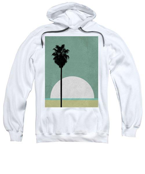Beach Palm Tree Sweatshirt