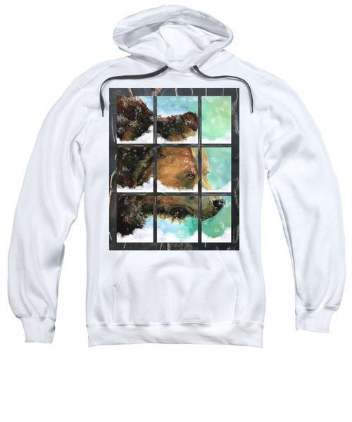 Bear Outside My Window Sweatshirt