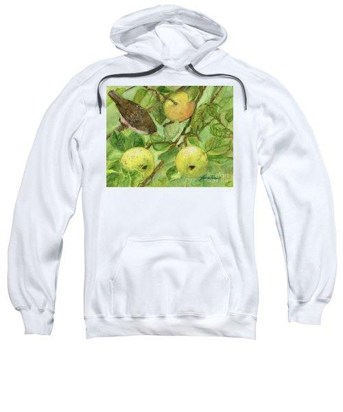 Bird And Golden Apples Sweatshirt