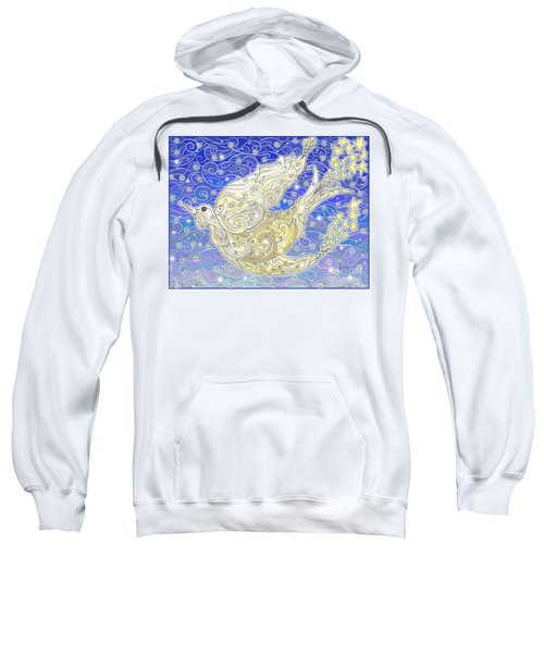 Bird Generating Stars Sweatshirt