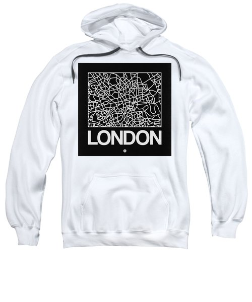 Black Map Of London Sweatshirt