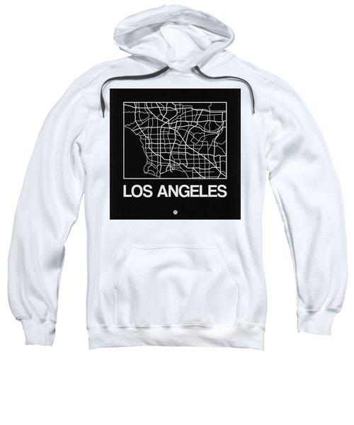 Black Map Of Los Angeles Sweatshirt