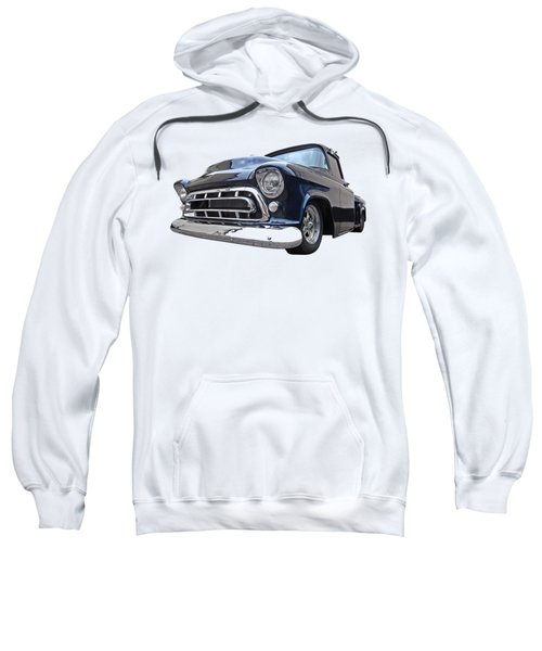 Blue 57 Stepside Chevy Sweatshirt