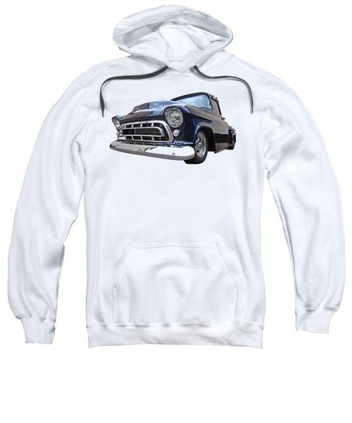 Blue 57 Stepside Chevy Sweatshirt