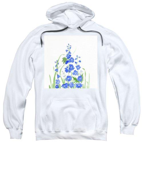 Blue Larkspur  Sweatshirt