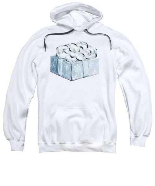 Blue Present Sweatshirt