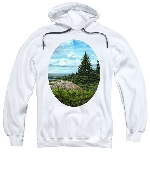 Blueberries On Cadillac Mountain Sweatshirt