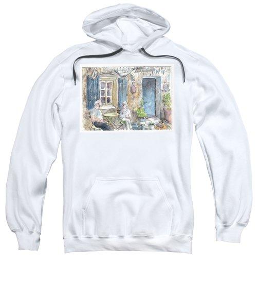 Breakfast Al Fresco Sweatshirt