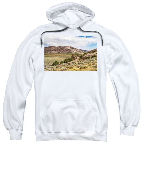 Breathtaking Wyoming Scenery Sweatshirt