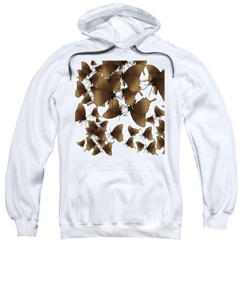 Butterfly Patterns 1 Sweatshirt