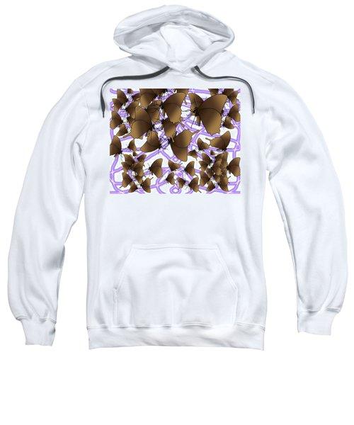 Butterfly Patterns 12 Sweatshirt