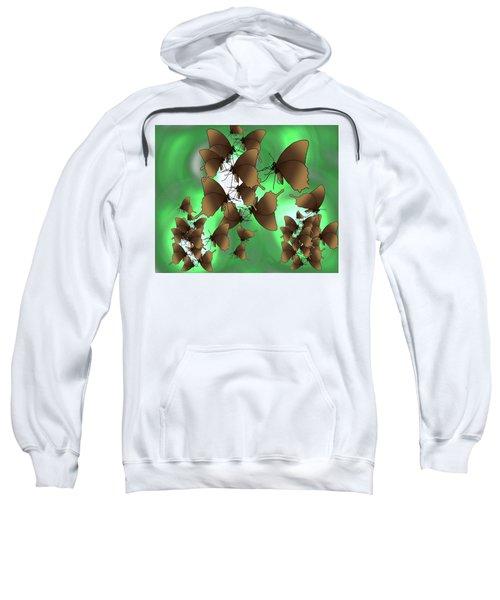 Butterfly Patterns 15 Sweatshirt