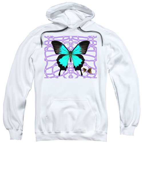 Butterfly Patterns 18 Sweatshirt